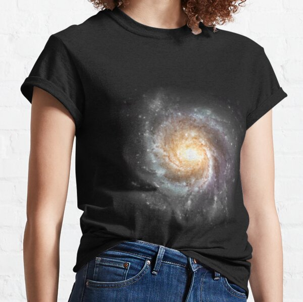 A galaxy is a huge collection of gas, dust, and billions of stars and their solar systems Classic T-Shirt