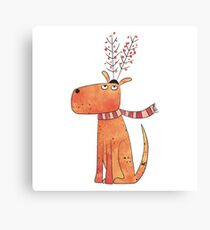 The Antler Hat Canvas Print