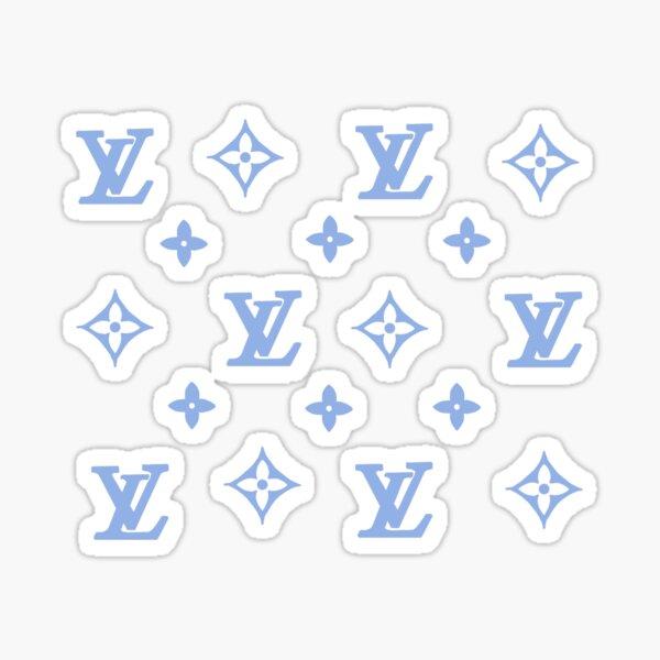 Blue Designer Sticker Pack Sticker