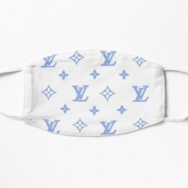Blue Designer Sticker Pack Flat Mask