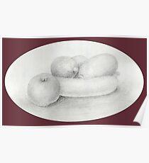 Fruit Sketch Poster