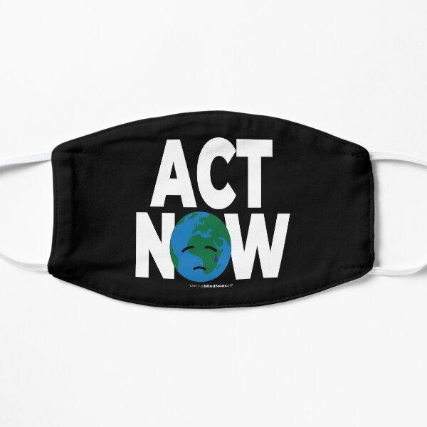 Climate Activist Graphics #takingblindfoldsoff 45 Flat Mask