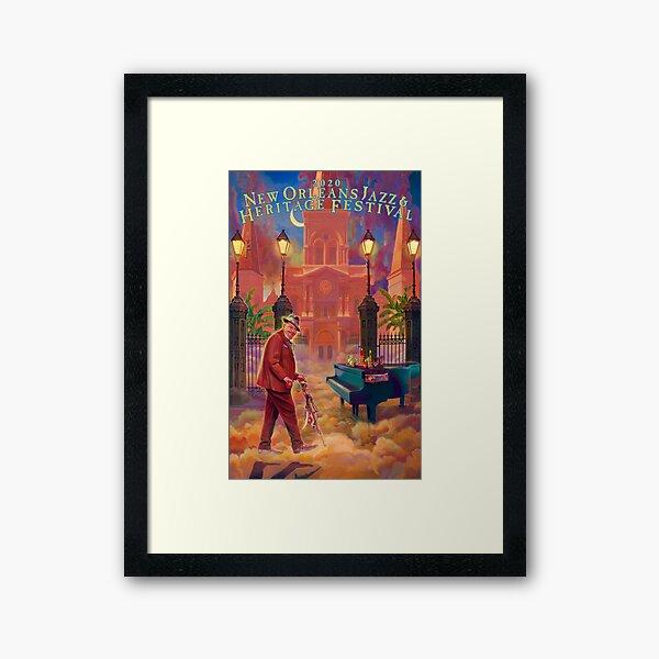 New Orleans Jazz 2020 Gerahmter Kunstdruck