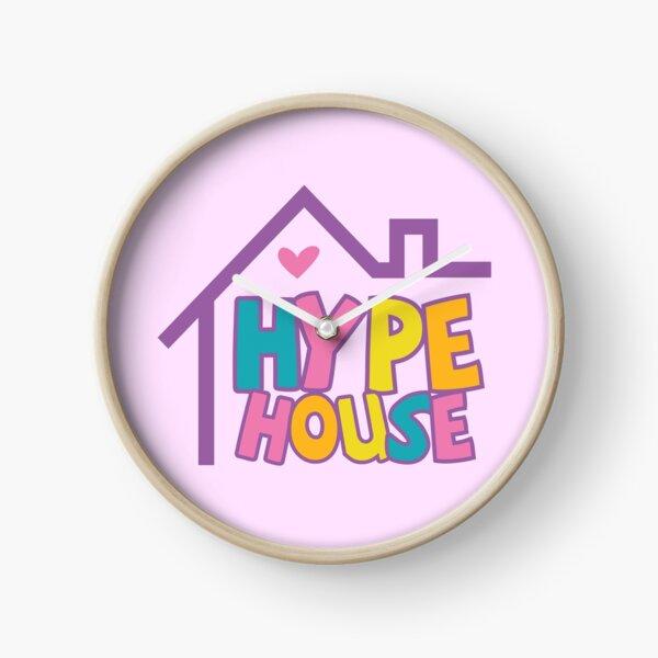 Hype House Logo Clock
