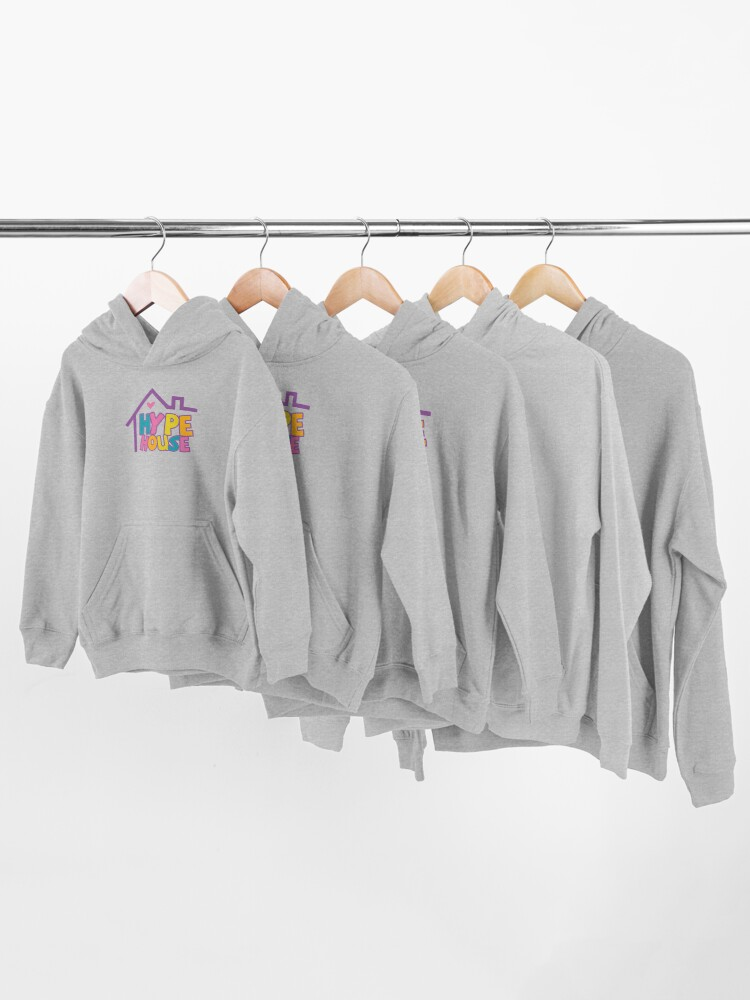 Alternate view of Hype House Logo Kids Pullover Hoodie