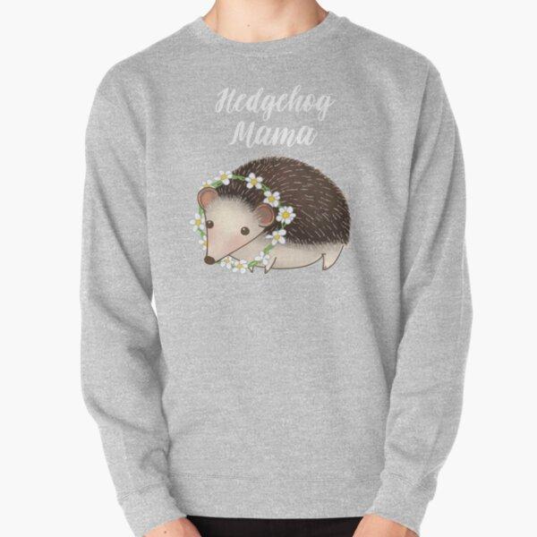 Hedgehog Mama  Pullover Sweatshirt