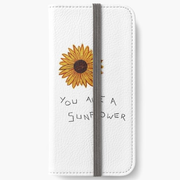 you are a sunflower iPhone Wallet