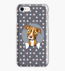 Stars & Stripes American Pit Bull Terrier iPhone Case/Skin