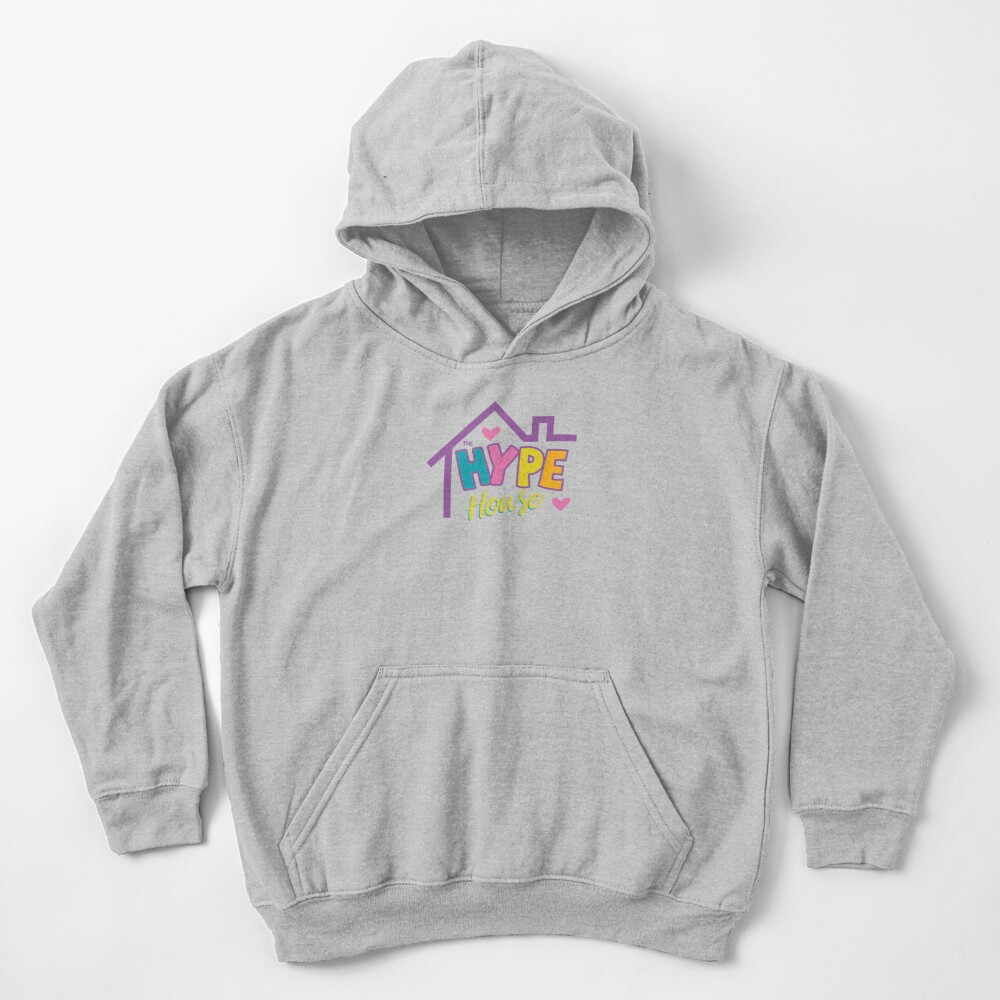 Hype House Sign Kids Pullover Hoodie