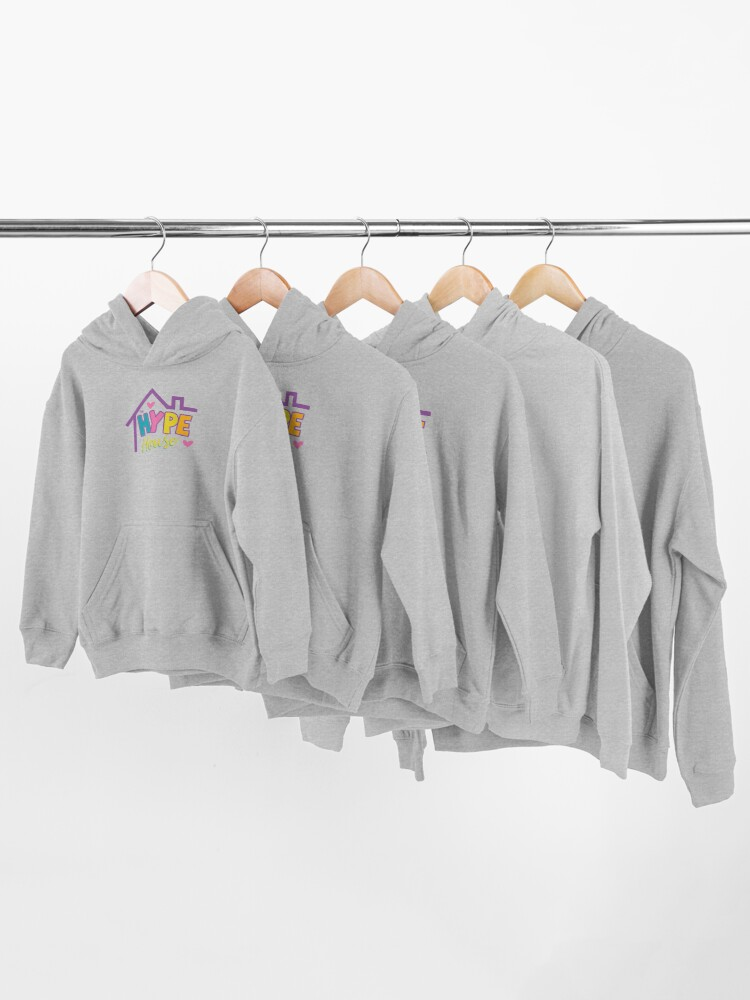 Alternate view of Hype House Sign Kids Pullover Hoodie