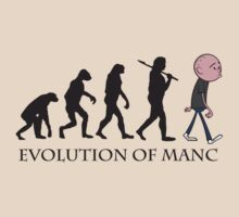 Evolution Of Manc | Unisex T-Shirt