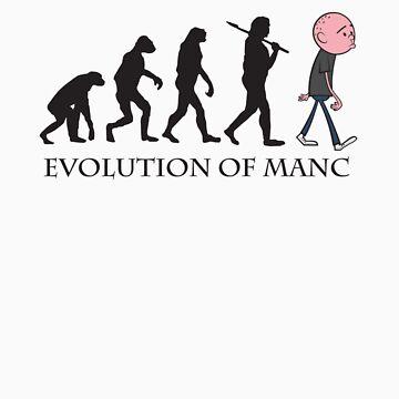 Evolution Of Manc by ToddWilhelm