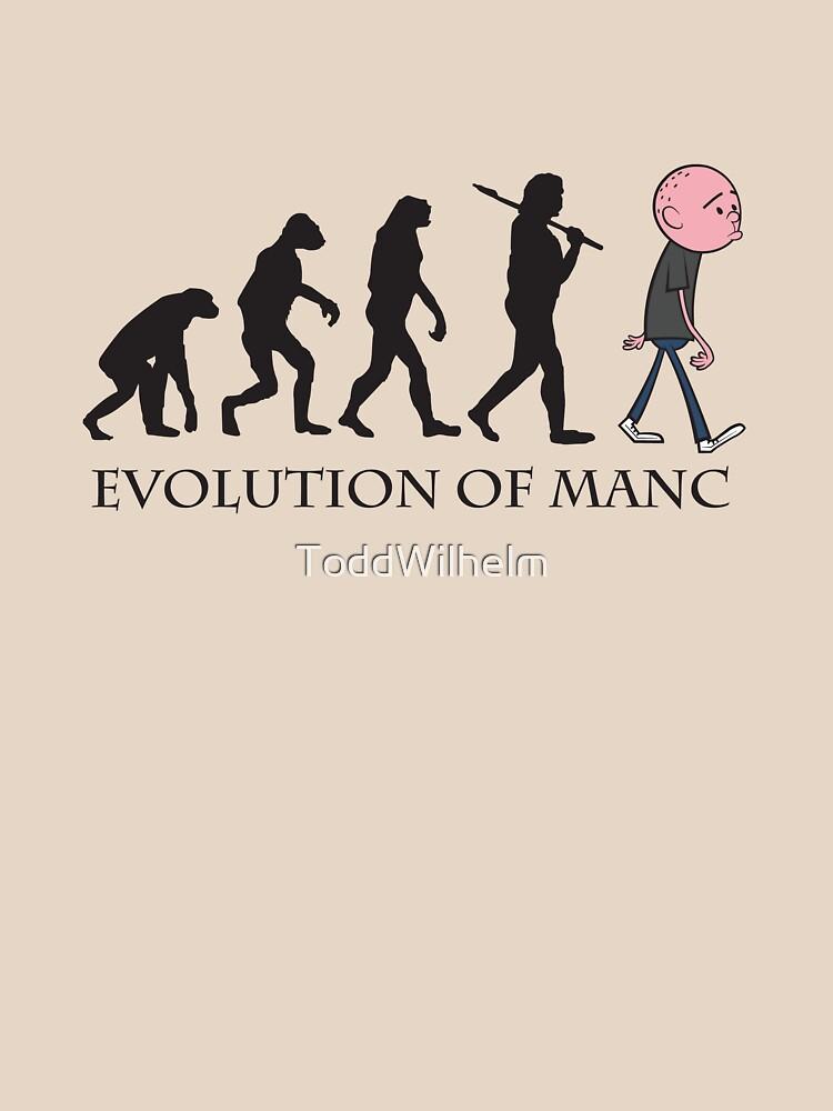 Evolution Of Manc | Unisex T-Shirt