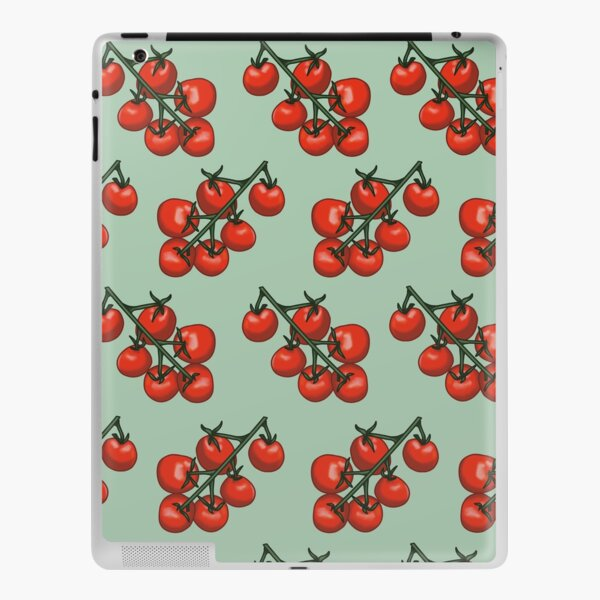 Tomatoes on vines iPad Skin