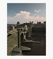 Bridge to the Old Town Photographic Print