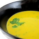 Thai Pumpkin with coconut cream soup by LifeisDelicious