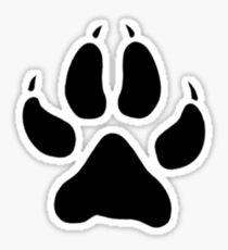 Wolf's Paw Sticker