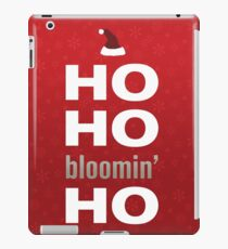 Ho ho iPad Case/Skin