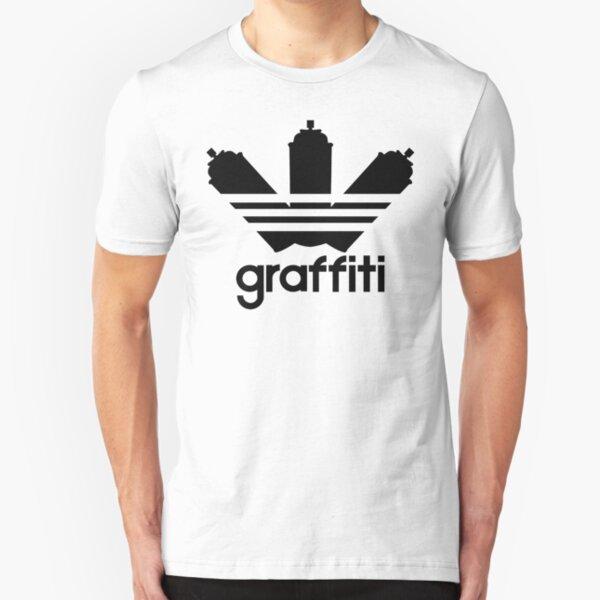 Graffiti Slim Fit T-Shirt