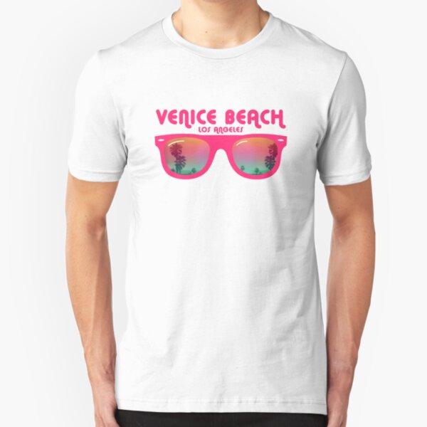Venice Beach Sunglasses reflect Slim Fit T-Shirt