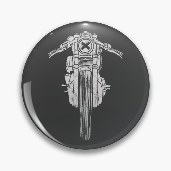 Motorcycle Up Pins And Buttons Redbubble