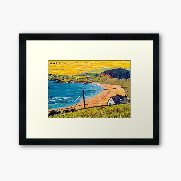 Long Strand, West Cork, Ireland Framed Art Print