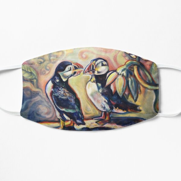 Pair of Puffins  Mask