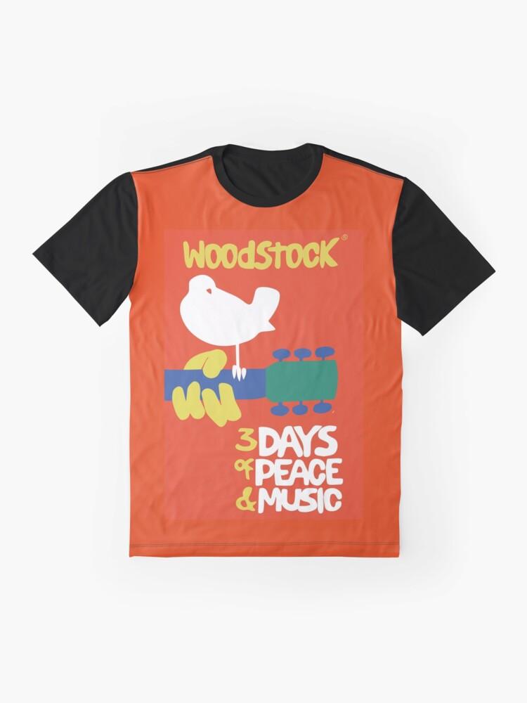 Alternate view of Woodstock 1969 Graphic T-Shirt