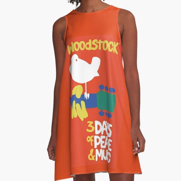 Woodstock 1969 A-Line Dress