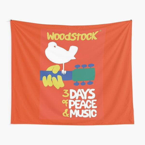Woodstock 1969 Tapestry