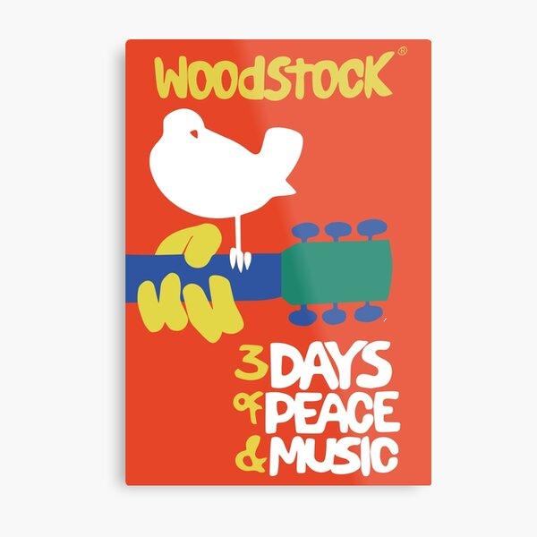 Woodstock 1969 Metal Print