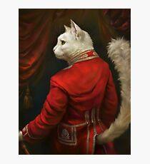 The Hermitage Court Chamber Herald Cat Photographic Print