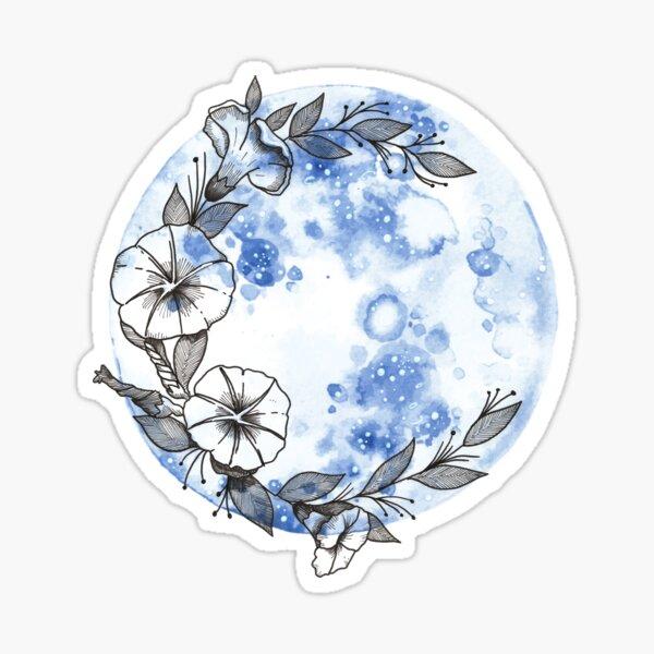 Moonflower Sticker