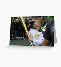 Olympic Torch Relay Greeting Card