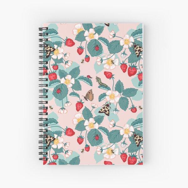 Strawberry Patch Spiral Notebook