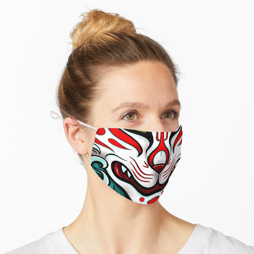 Kitsune Face Mask