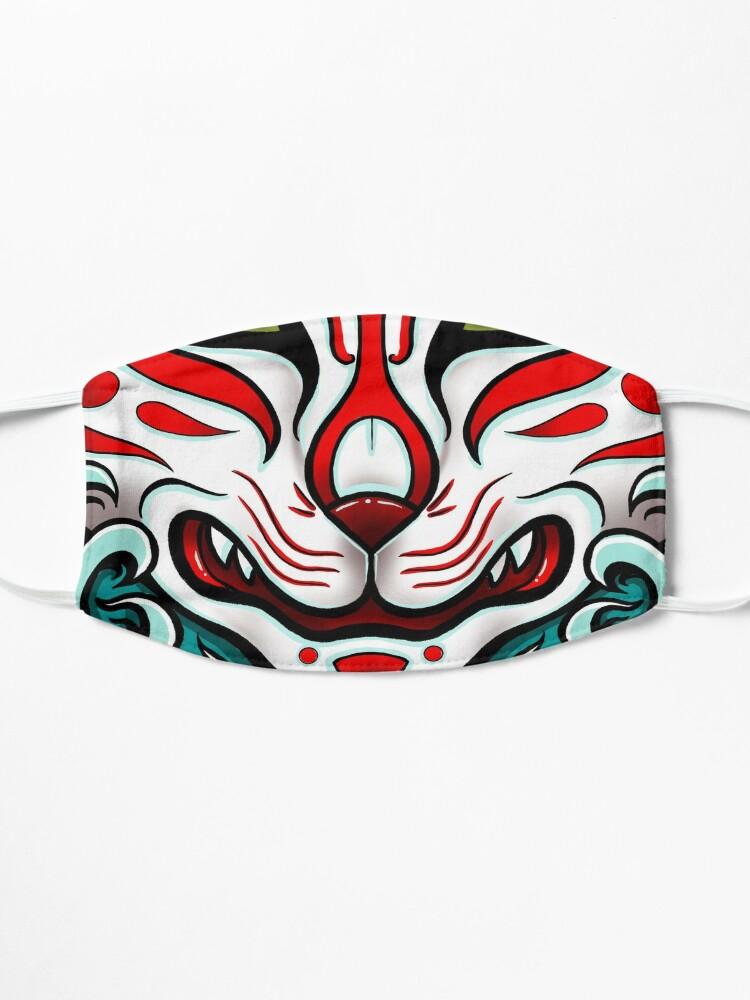 Alternate view of Kitsune Face Mask