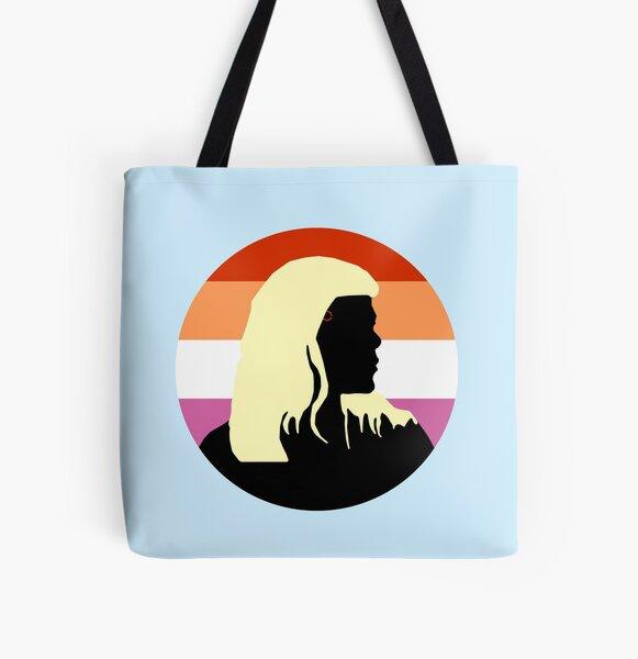Ada Lesbian Flag - Detroit Evolution Pride All Over Print Tote Bag