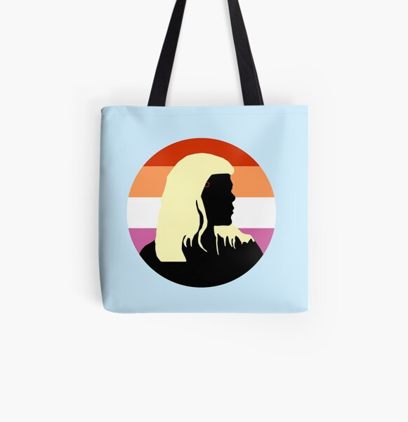 Ada Lesbian Flag - Detroit Evolution Pride All Over Print Tote Bag