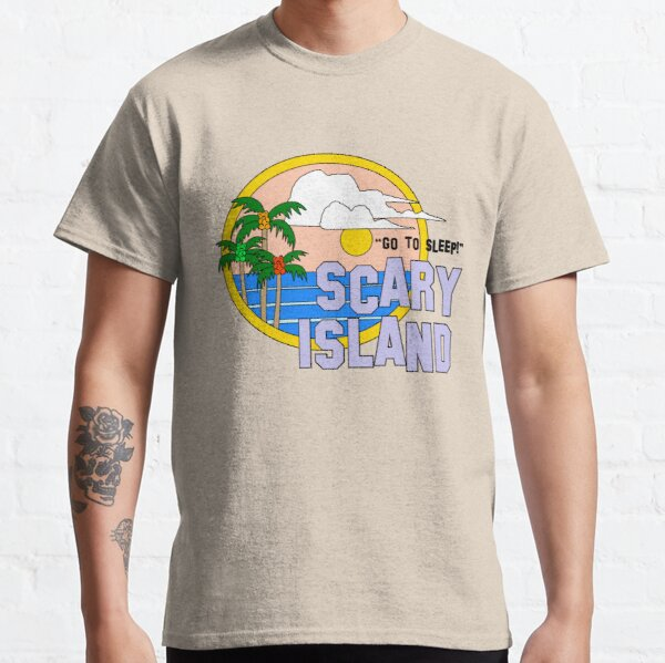 Greetings From Scary Island - The Peach Fuzz Classic T-Shirt