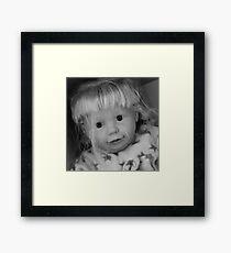 Cute  doll Framed Print