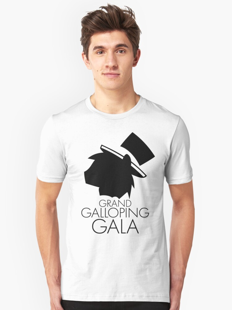 grand Galloping Gala Simple Unisex T-Shirt Front