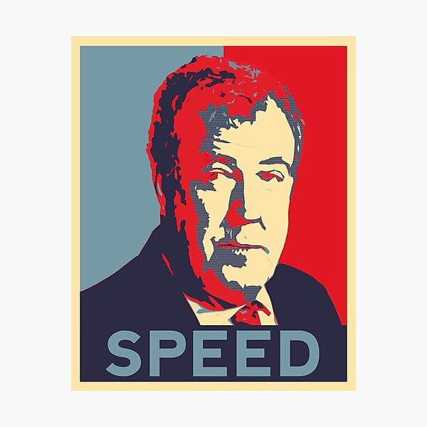 Jeremy Clarkson - Speed Photographic Print