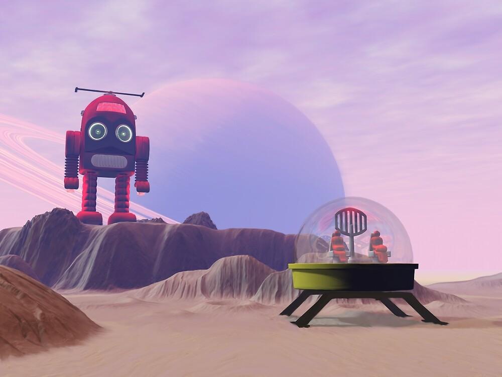 Toy Moon Walker Scene by mdkgraphics