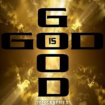 God is Good Stickers by 2024Graphyx