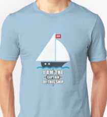 I Am the Captain of This Ship Unisex T-Shirt