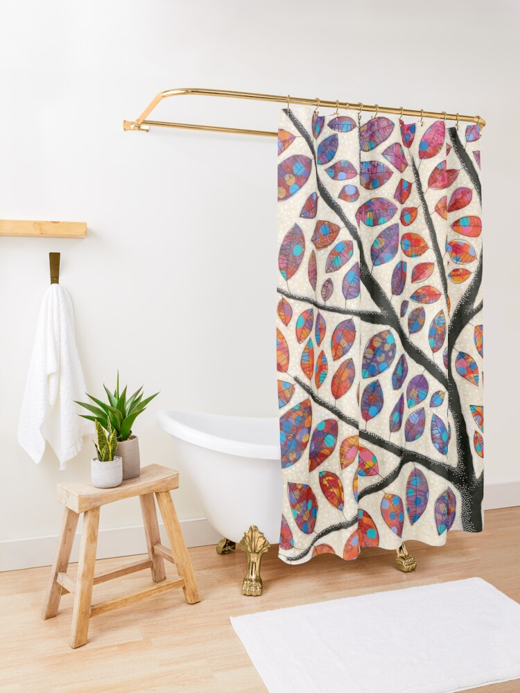 Alternate view of Amazing Grace Shower Curtain
