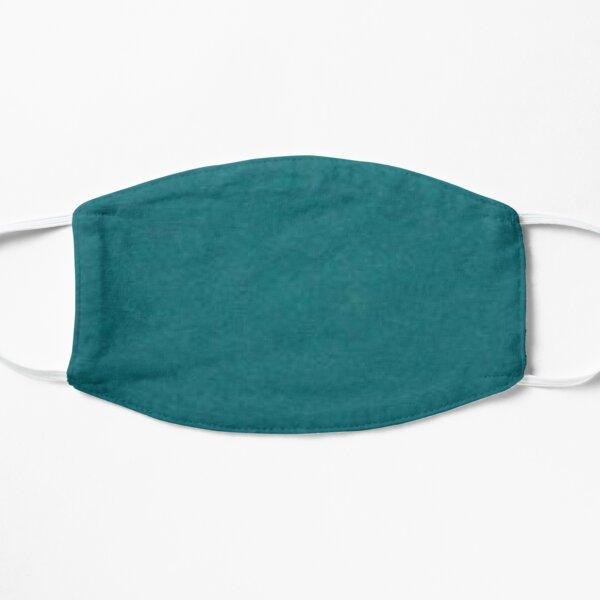 Plain teal facemask face mask , dark turquoise, ultramarine, azure,  Mask