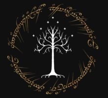 Ringed White Tree of Gondor