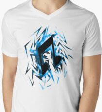 DJ-Pon3 Cutiemark Shards Men's V-Neck T-Shirt